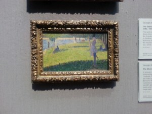 This Seurat was just about purse-sized. I was tempted.